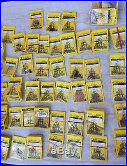 Unbelievable Model Shipways Accessories Parts Pieces Fittings Lot Over 275 Packs