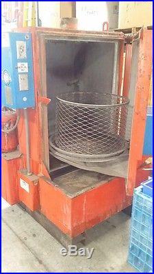 USED Alkota Model 113 Rotary Parts Washer 70 Gallon Capacity 460V