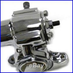 Universal Chrome GM Saginaw Vega Manual Power Steering Gearbox Hot Rat Rod