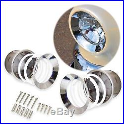 Universal Frenched Headlight Full Kit (Pair) model a Ford Chevy Buick Truck