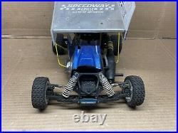 Unknown Model 1/10 Scale Vintage Nitro Sprint Car For Parts/Repair (Read!) #5241