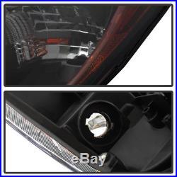 Update Black Smoke 2010-2013 Mazda 3 Mazda3 Halogen Model Headlights Headlamps