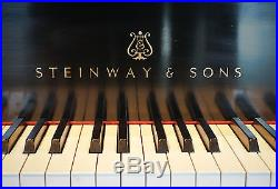 Used Steinway B, Late Model, 1995, Original Parts, Famous Nashville Owner