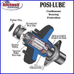 Utility Trailer Parts Kit 3.5K Trailer Axle 73 HF/58 SC Model T1108 S