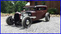 VAPHEAD swept front frame, hot rod old school rat rod low 1928-31 Model A Ford
