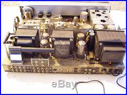 VINTAGE SANSUI MODEL 1000A TUBE OPERATED STEREO RECEIVER PARTS OR RESTORATION