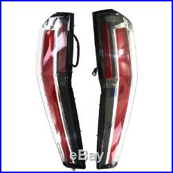 VLAND LED Tail Lights For 2007-2014 Cadillac Escalade Taillight Assemly 16 Model