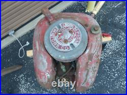 Vintage 1940 Model F Deluxe 1 Champion Outboard Boat Motor for Parts or Restore