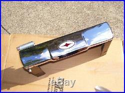 Vintage 1960's Chrome auto-serv dash Tissue box tray service gm street rat rod