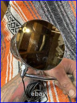Vintage Accessory Door Mounted Spotlight mirror Ford Model A Bomb Chevrolet OG