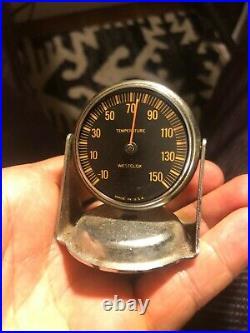 Vintage Auto Parts Dash Mounting Temperature Part