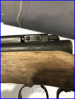 Vintage Benjamin Franklin Model 3100 Air Rifle BB Gun Parts Only Non Working