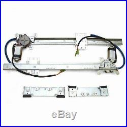 Vintage Car Street Hot Rat Rod Flat Glass Power Window Kit U Wire It 2 Door Kit