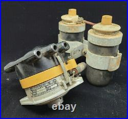 Vintage HARMAN COLLINS Dual Point FLATHEAD Ford Distributor MALLORY Coils scta
