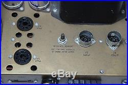 Vintage Heathkit Model W-5M Audiophile Mono Bloc Tube Amplifier -Parts/Repair #2