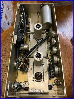 Vintage Heathkit Model Wa-p2 Preamplifier Untested For Parts Tube Amp