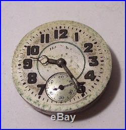 Vintage Illinois Time King watch wristwatch grade 24 model 4 1929 parts restore