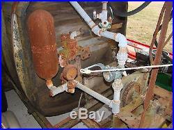 Vintage JOHN BEAN ORCHARD SPRAYER Model 20 for parts ONLY