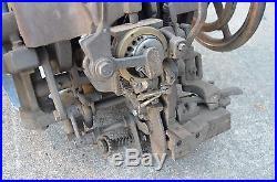 Vintage! Landis Model 12 Sole Curved Stitcher Stitching Boot Shoe Machine Parts