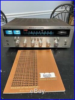 Vintage Marantz Model 2245 FM/AM Stereo Receiver Parts Repair