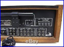 Vintage Marantz Model 2275 Stereo Receiver Wood Cabinet Parts/Repair