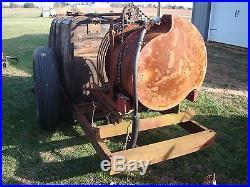 Vintage Model 20 John Bean Wooden Tank Orchard Sprayer for Parts / Restoration