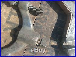Vintage Moore Drop Forging Reversible Machinist Clamp Vise Specialty Tool Jig