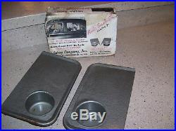 Vintage NOS rare 1950' s Drive-in car hop trays window automobile accessory part