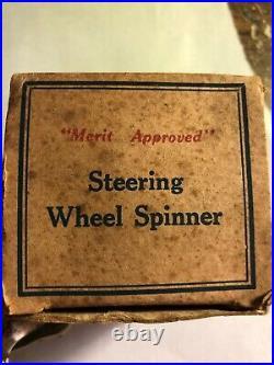 Vintage Original Auto Parts Steering Wheel Accessory Part