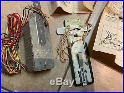 Vintage Original Auto Truck Parts Rear Mounting Brake Stop Light Part