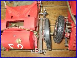 Vintage POCHER Lot of 2 Car Models Repair Spare Parts ALFA ROMEO F-2 FIAT 130 HP