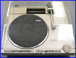 Vintage Phase Linear Series II Model 8000 Turntable Record Parts/Repairs