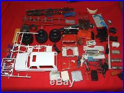 Vintage Plastic Truck n Car Model Parts JUNKYARD. Loaded. Mostly Semi Parts