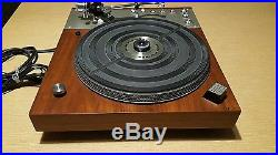 Vintage Record Player Marantz Model 6300 Turntable For Parts or Repair