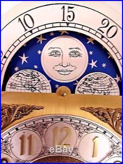 Vintage Ridgeway Grandfather Clock Movement w Dial RE Model #149 Clock Parts
