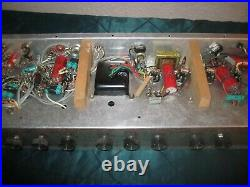 Vintage SILVERTONE Tube Guitar Amplifier Chassis Model 1474 Parts Repair