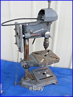 Vintage Sears Roebuck Craftsman Model 101 Drill Press for Parts or Repair
