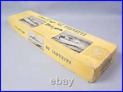 Vintage Sterling Chris Craft 42' Corvette Radio Control Model withBox & Parts