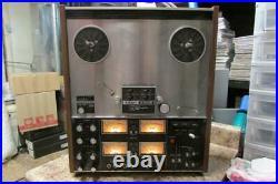 Vintage TEAC Model A-3340 Reel to Reel As Is for Parts or Repair
