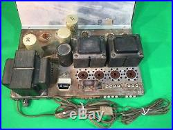Vintage THE FISHER Model KX-200 Stereo Master Control Amplifier Repair or Parts
