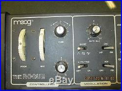 Vintage The Rogue Moog Analog Synthesizer Model 342A Parts Or Repair audiophile