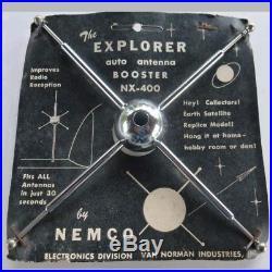 Vintage style antenna booster sputnik ariel signal amplifier antenna topper