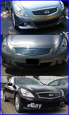 Vip Polyurethane Pu Front Bumper Chin Lip Spoiler For 2010-13 Infiniti G37 Sedan
