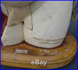 Vtg Denoyer Geppert Torso Head Model Human Anatomy Removable Parts Steampunk Art