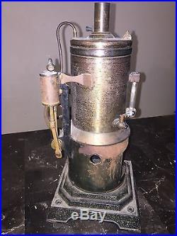Vtg Model STEAM ENGINE Boiler PARTS REPAIR Marklin & Cie Pre-1920 Funnel BURNER