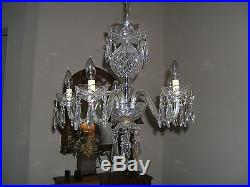 Waterford Chandelier Model B5 with original parts list