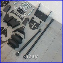 Weld On Triangulated 4 Link Kit Brackets 2500 Bags Air Ride Suspension 2.75 axle