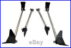Weld On Triangulated 4 Link Suspension Forged Rod Ends Hot Rod 1932 Ford Model A