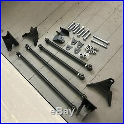 Weld On Triangulated 4 Link Suspension Hot Rod Rat Truck Classic Car Air Ride