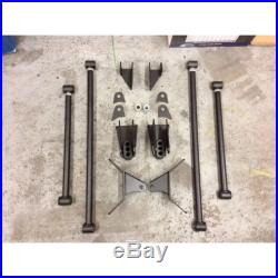 Weld On Triangulated 4 Link Suspension as shown Air Ride rat rods streets rods